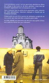 Grammaticalement Correct Grammaire Alphabetique Du Russe - 4ème de couverture - Format classique