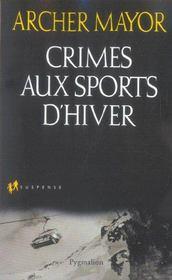 Crimes aux sports d'hiver - Intérieur - Format classique
