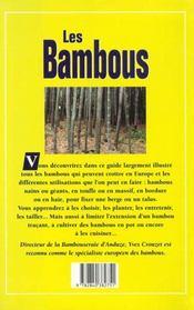 Bambous (Les) - 4ème de couverture - Format classique