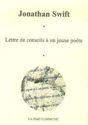 Lettre de conseils à un jeune poète - Couverture - Format classique