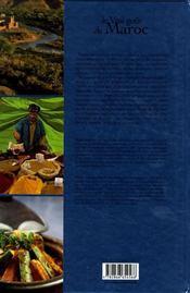 Le vrai goût du Maroc - 4ème de couverture - Format classique
