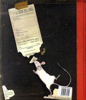 Le grand livre des peurs - 4ème de couverture - Format classique