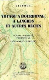 Voyage à Bourbonne, à Langres et autres récits - Couverture - Format classique
