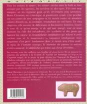 Un gouter chez l'ogresse ; la cuisine des contes - 4ème de couverture - Format classique