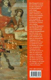 La quete de pendaries - 4ème de couverture - Format classique