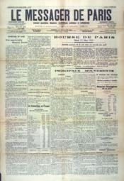 Messages De Paris (Le) N°60 du 12/03/1935 - Couverture - Format classique