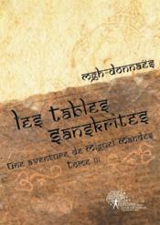 Les tables sanskrites - Couverture - Format classique