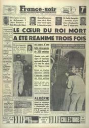 France Soir 7 Eme Edition N°5165 du 28/02/1961 - Couverture - Format classique