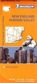 Vente livre :  New England , New York  - Collectif Michelin