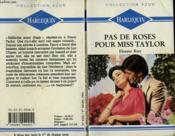 Pas De Roses Pour Miss Tylor - Hunter'S Harem - Couverture - Format classique