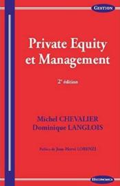Vente  Private Equity Et Management, 2e Ed.  - Chevalier/Langlois