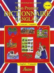 Mon premier dictionnaire d'anglais - Intérieur - Format classique