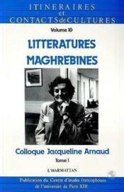 Litteratures(1) Maghrebines - Couverture - Format classique