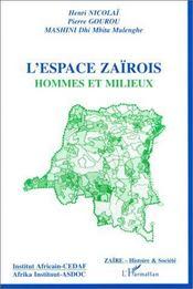 L'espace zaïrois - Intérieur - Format classique