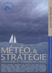 Météo et stratégie ; croisière et course au large - Couverture - Format classique
