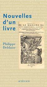 Nouvelles D'Un Livre - Intérieur - Format classique