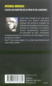 Crache béton ; intégrale Brussolo t.23 - 4ème de couverture - Format classique