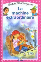 La machine extraordinaire - Intérieur - Format classique