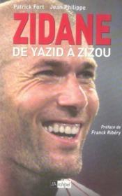 Zidane, de yazid a zizou - Couverture - Format classique