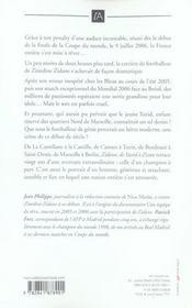 Zidane, de yazid a zizou - 4ème de couverture - Format classique