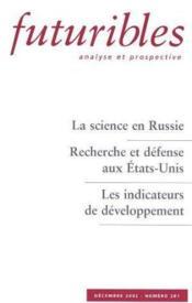 La science en russie - Couverture - Format classique