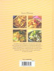 Pates (les) - 4ème de couverture - Format classique