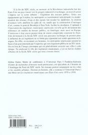 Les Ingenieurs Des Travaux Publics Et La Transformation Des Metropoles Americaines ; 1870-1910 - 4ème de couverture - Format classique