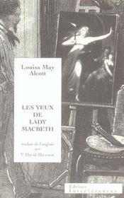 Les yeux de Lady Macbeth - Intérieur - Format classique