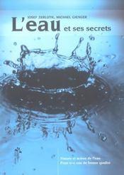 L'eau et ses secrets - Intérieur - Format classique