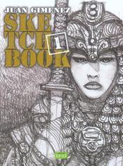 Sketchbook Juan Gimenez t.1 - Intérieur - Format classique