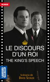 Vente  Le discours d'un roi ; the king's speech  - David Seidler