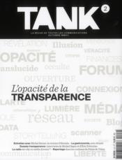 Revue Tank N.2 - Couverture - Format classique