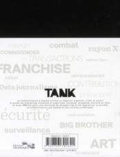 Revue Tank N.2 - 4ème de couverture - Format classique