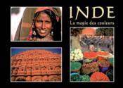 Inde, la magie des couleurs - Couverture - Format classique