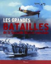 Les grandes batailles de la Seconde Guerre mondiale - Couverture - Format classique