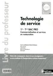 Techno De Service 1e/Term Bpro - Couverture - Format classique