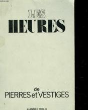 Les Heures De Pierres Et Vestiges - Couverture - Format classique