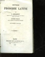 Nouvelle Prosodie Latine - Couverture - Format classique