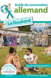 Vente  Le guide de conversation Routard ; allemand  - Collectif Hachette