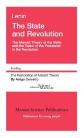 Vente livre :  The state and revolution ; the marxist theory of the state and the tasks of the proletariat in the revolution  - Vladimir Ilyich Lenin - Arrigo Cervetto - Vladimir Ilitch Lenine
