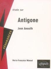 Étude sur antigone (2e édition) - Intérieur - Format classique
