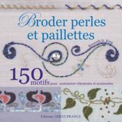 Broder perles et paillettes - Couverture - Format classique
