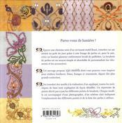 Broder perles et paillettes - 4ème de couverture - Format classique