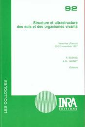 Structure et ultrastructure des sols et des organismes vivants - versailles (france), 20-21 novembre - Intérieur - Format classique
