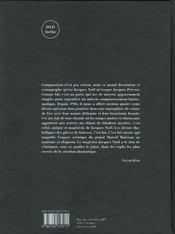 Jacques Noël ; décors et dessins de théâtre - 4ème de couverture - Format classique