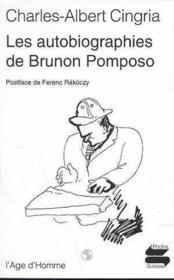 Autobiographies De Brunon Pomposo (Les) - Couverture - Format classique