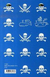 Les pirates ; dans une aventure avec les baleines - 4ème de couverture - Format classique