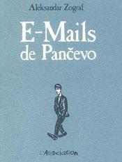 E-mails de pancevo - Couverture - Format classique
