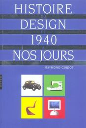 Histoire du design de 1940 a nos jours - Intérieur - Format classique