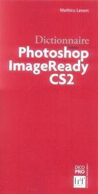 Dictionnaire photoshop image ready cs2 - Intérieur - Format classique